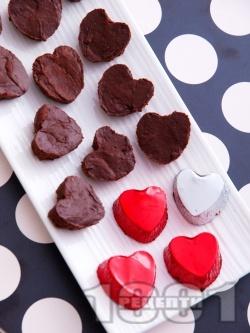 Домашни шоколадови бонбони - снимка на рецептата